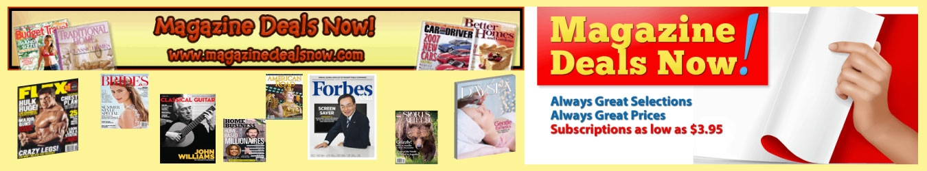 Magazine Deals Now Coupons