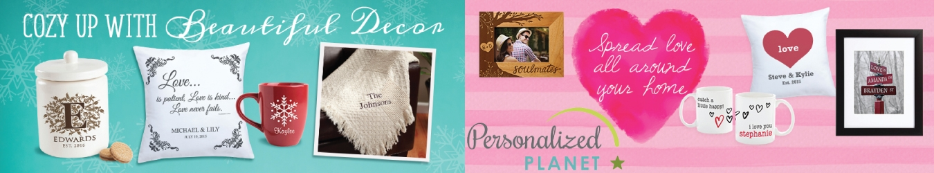 Personalized Planet Coupons
